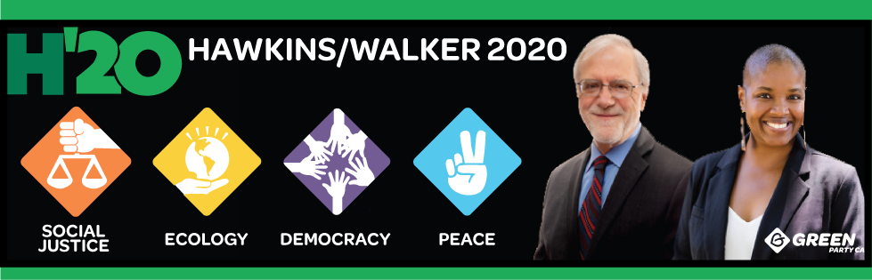 Hawkins / Walker 2020 - H'20 - Social Justice, Ecology, Democracy, Peace